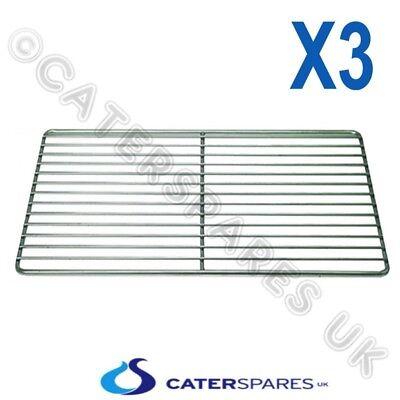 3x Stainless Steel Shelf Combi Oven Steamer Wire Grid Rack Lincat Rational Etc