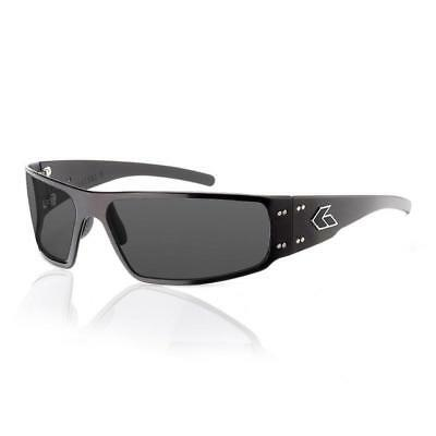 New Gatorz MAGNUM 2.0 BLACK frame SMOKED POLARIZED Lens Asian Fit sunglasses