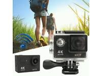 "MOHOO 4K Sports Action Camera H9SE HD 170° Wide Angle, 30M Waterproof 2"" Display"