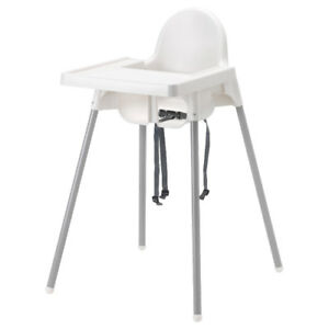 IKEA antilop chaise haute bébé coussin - baby high feeding chair
