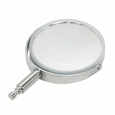 Microscope Reflective Mirror Concave Reflectors Reflex Mirror W Metal Brackets