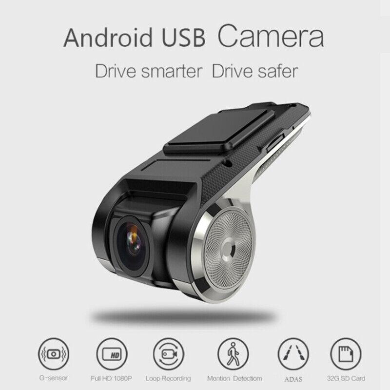 1080P HD Car DVR 2MP Smart Camera Video Recorder GPS ADAS G-