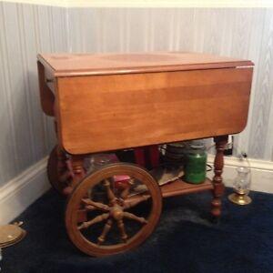 Antique Serving Cart