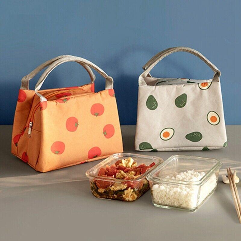 Kühltasche Schule Picknick Lunchbox Isoliert Thermische Milchflasche Tasche