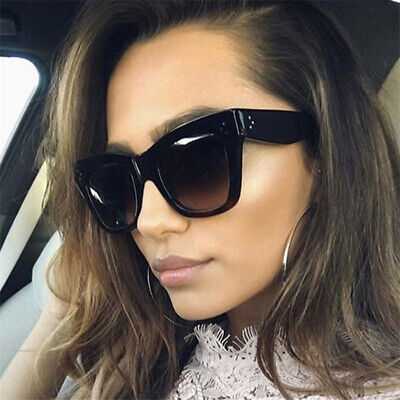 Kim Kardashian Sunglasses Oversized Top Flat Black Women Celine Fashion 2019 (Kim Kardashian New Sunglasses)