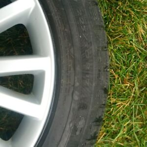 Audi/VW mag wheels and snow tires