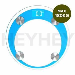 180kg Round Digital Fitness Weight Bathroom Gym Body Glass 4Color Melbourne CBD Melbourne City Preview