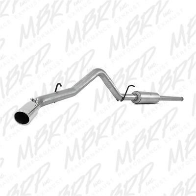 MBRP Cat Back Exhaust System 2014-2019 Chevy Silverado 1500 5.3L 4.3L S5080AL Aluminized Cat Back Exhaust Systems