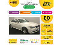 White BMW 320 2.0 auto Petrol 2009 i M Sport Business Edition FROM £25 PER WEEK!