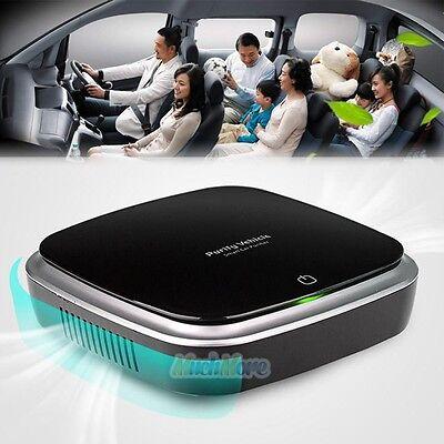 Auto Car Home Fresh Lonic Air Purifier Oxygen Bar Ozone Lonizer Cleaner Diffuser