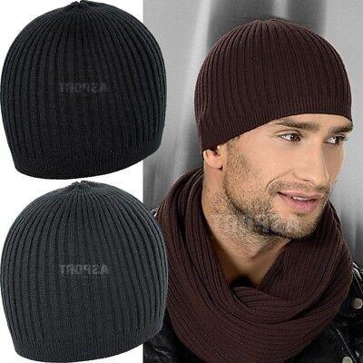Herren Wintermütze WOLLE 100% Beanie Mütze Hat Strickmütze JOE WOOL Loman Wool Beanie Herren