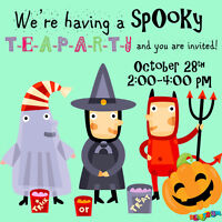 PA Day and Spooky Tea Party !