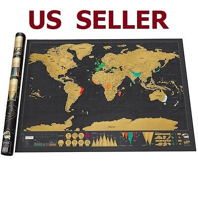 Us Ship Christmas Scratch Off The Countries You Been Amazing World Map