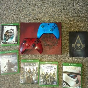 Gears of War Special Edition Xbox One 2TB Package