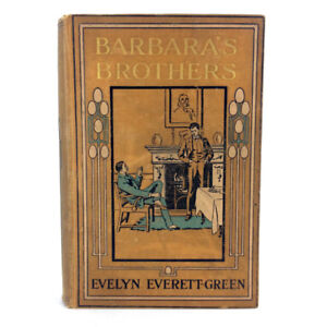 Barbaras Brothers Book Fiction Evelyn Everett Green 1888 Antique
