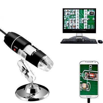 1000x Zoom Hd 1080p Usb Microscope Digital Magnifier Endoscope Video Camera