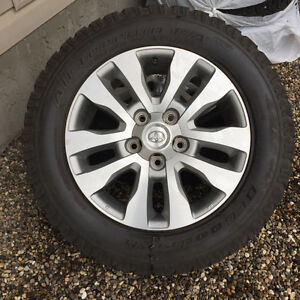 "20"" Toyota OE Wheels with Tires"