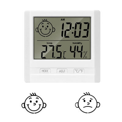 Innenthermometer Hygrometer Zimmerthermometer Luftfeuchte Digital Min Max NEU