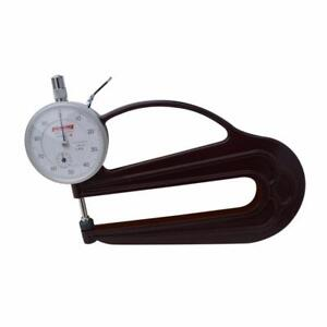 Thickness Gauge Tester Leather Craft Measure Tools 0-10mm Testing Depth 20mm