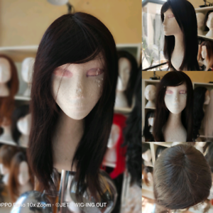 Brand new HUMAN hair Peruvian Remy hair with bangs 18 inch New Farm Brisbane North East Preview