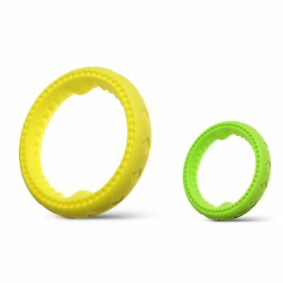 Fluffy Paws Non-Toxic Durable Rubber Ring Pet Dog Dental Chew (L/S -