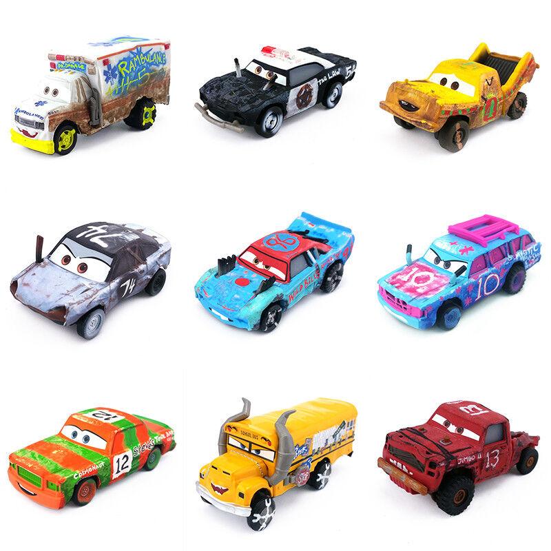 Mattel Disney Pixar Cars 3 Blind Spot Thunder Hollow Car 1:55 New Loose
