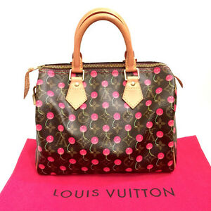 SOLD Louis Vuitton Limited Edition Cerises Speedy 25