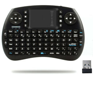 Portable Wireless Handheld Mini Keyboard with Touchpad Mouse