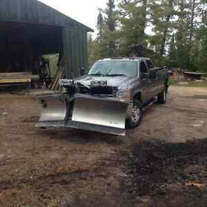 2008 Chevrolet C/K Pickup 3500 Pickup Truck and Fisher Plow