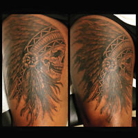 Tattoo professionnel à partir de 50$ studio MonsterInk Suivre|Pa