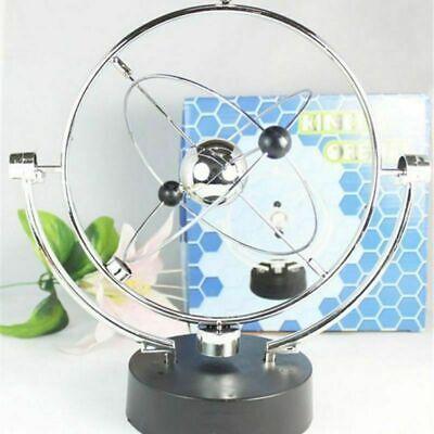 Newtons Cradle Metal Balance Ball Physics Science Pendulum Gifts Desk Decors Toy