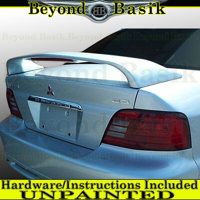 1999-2003 Mitsubishi Galant Factory Style Spoiler Wing w/LED Light UNPAINTED