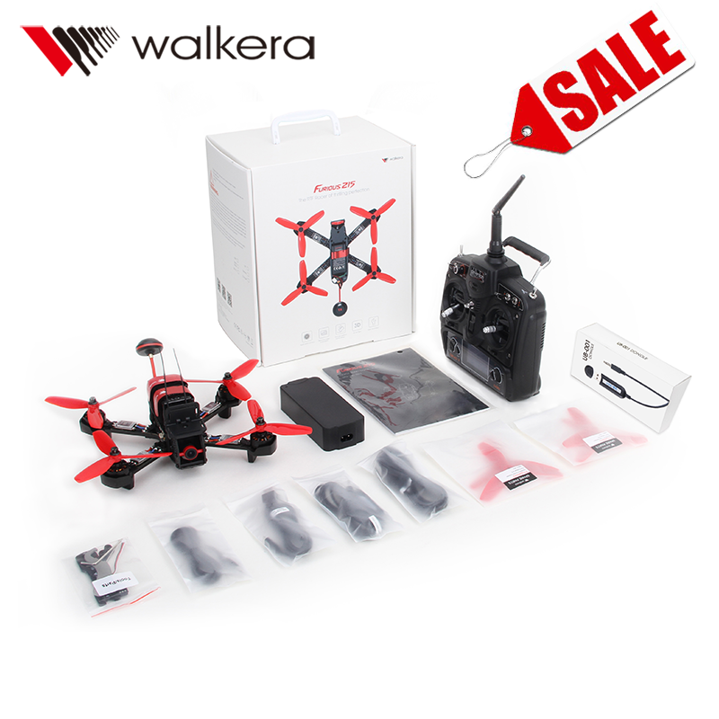 Walkera Racing Drone Furious 215 with Camera/OSD/5.8Ghz/Simu