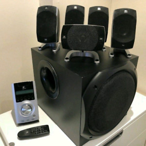 Monster Speakers..Logitech Z-5500 5.1 THX.Best DeaL..In Downtown
