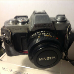 Minolta XG-1 35mm SLR Film Camera EXCELLENT Condition