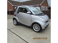 Smart fortwo 0.8cdi Auto ( 45bhp ) Passion with panoramic roof, free road tax