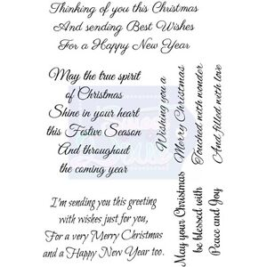 Christmas sentiments crafts ebay thinking of you this christmas clear stamp by sweet dixie sentiment card craft m4hsunfo
