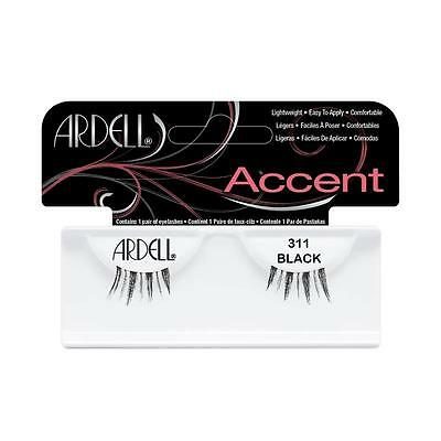 40 Pairs Ardell Natural 311 Accents Fashion Lash Fake Eyelashes Black