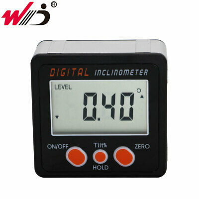New Aluminum Enclose Electronic Protractor Inclinometer Bevel Box Angle Level