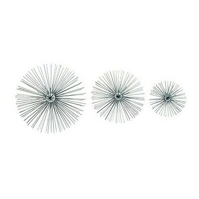 Benzara 50374 Amazing Metal Wire Wall Decor Set Of 3 New