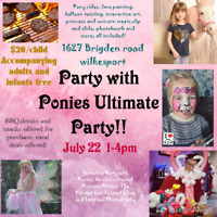 Ultimate pony party