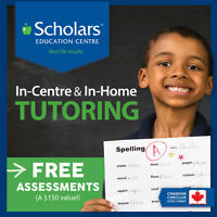 Tutoring: Reading, Writing, Math & French In Home or In Centre
