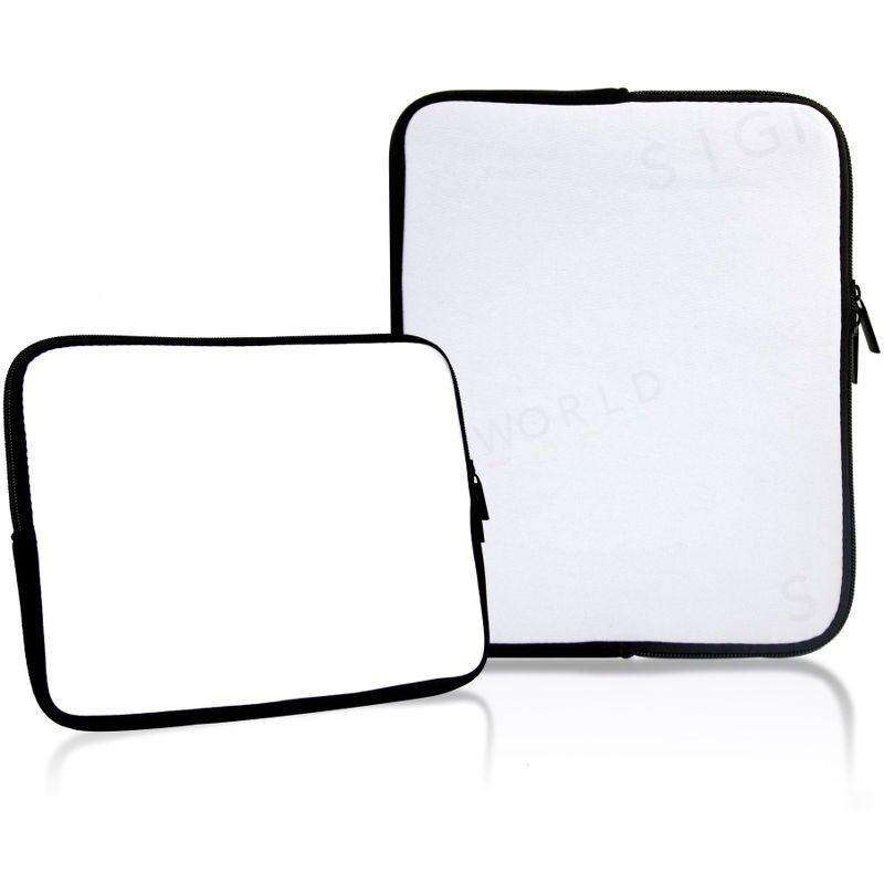 1511acfafa0 Neopreno sublimación Tablet funda Laptop Notebook iPad calor prensa bolsa  caso Zip