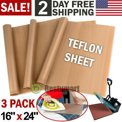 Teflon Sheets For Heat Press Transfer Non Stick Iron Resistant High Quality Cook