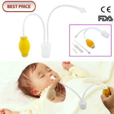 Best Baby Safe Nose Cleaner Vac Suctioning Device Nasal Aspirator For