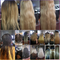 Sew-in hair extensions and box braiding Christmas  discount