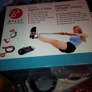 (BNIB)Bally Total Fitness All in One Gym in A Tote