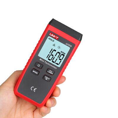 Uni-t Ut373 Digital Laser Handheld Tachometer Single Trigger Auto Rpm Speed Test