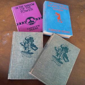 4 Books by Carolyn Keene, 3 Dana Girls Mystery Stories