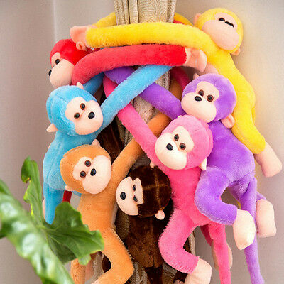 Baby Kids Soft Long Arm Monkey Stuffed Animal Doll Gift Plush Toys Cute Colorful - Cute Monkey Stuffed Animal